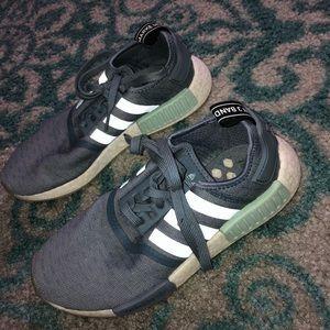 Adidas NMDs.